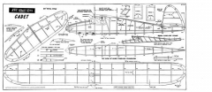 KK Cadet model airplane plan