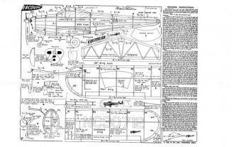 KK Ercoupe model airplane plan