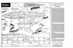 Grumman F9F Panther model airplane plan