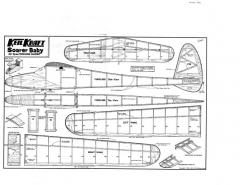 KK Soarer Baby model airplane plan