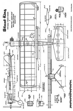 KK-StuntKing model airplane plan