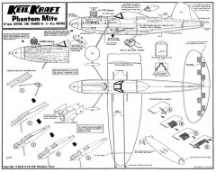KK Phantom Mite Later model airplane plan