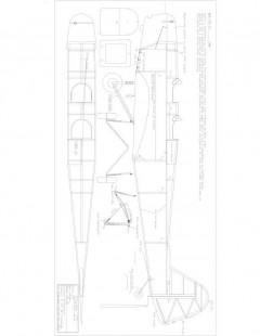 KLEM DEM Model 1 model airplane plan
