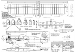 Kamacc 4T Mk2 model airplane plan