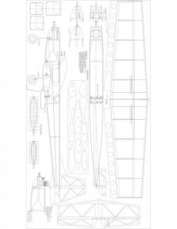 Kaos15 Model 1 model airplane plan