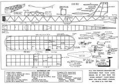 Karin model airplane plan