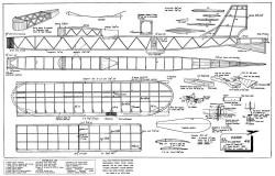 Karin 45in model airplane plan