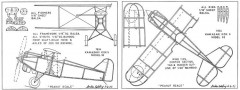 Kawasaki KDK 5 Model 92-Codding model airplane plan
