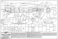 Keelplane Mk1 model airplane plan
