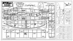 Keil Kraft Invader model airplane plan