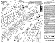 KeilKraft Sabre model airplane plan