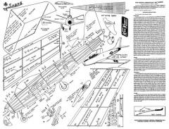 KeilKraft Sabre model airplane plan
