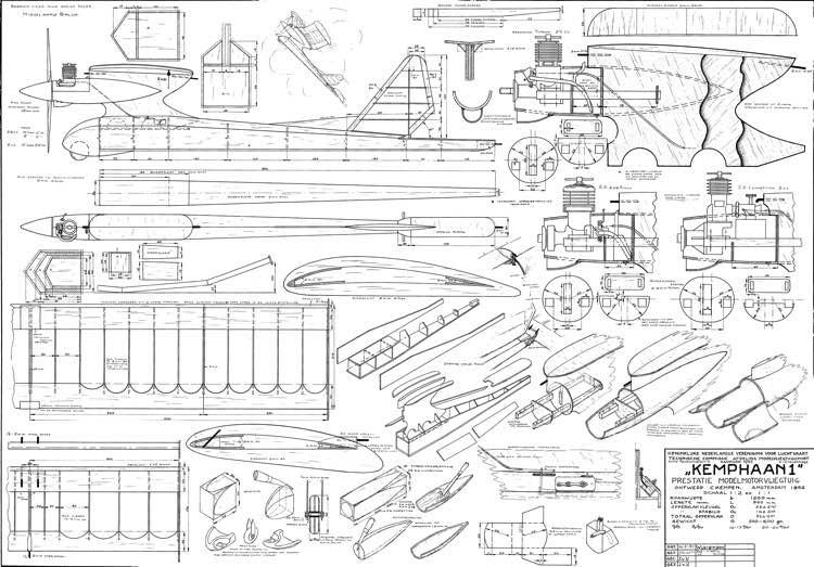 Kemphaan1 48in model airplane plan