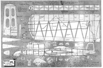 Kentish Wind model airplane plan