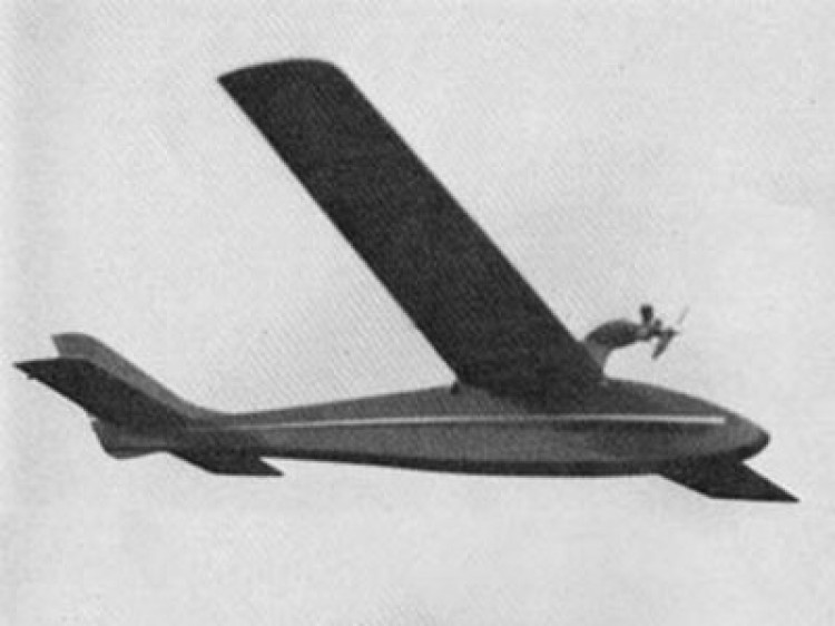 Kestrel model airplane plan