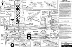 The Key model airplane plan