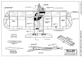Killer-AAM-09-71 model airplane plan