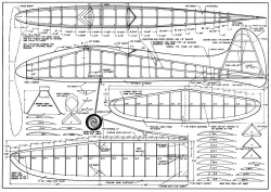 Kingpin model airplane plan