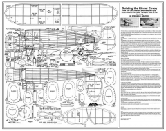 Kinner Envoy model airplane plan
