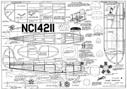 Kinner Sportster 25in model airplane plan