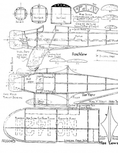 Kinner Sportster model airplane plan