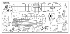 Kinner Envoy 22in model airplane plan