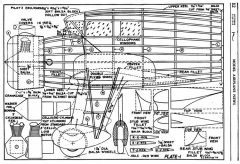 Kinner Envoy p1 model airplane plan