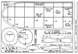 Kinner Envoy p5 model airplane plan
