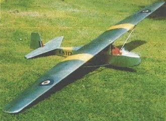 Kirby Cadet Mk2 model airplane plan