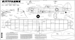 Kittyhawk Mk.1 model airplane plan