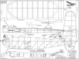 Kloud King model airplane plan