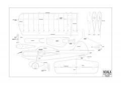 Koala model airplane plan