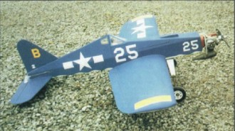 Kobra 20B model airplane plan