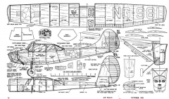 Kochman CessnaL-19 model airplane plan
