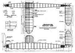 Kolb Champ Stick p1 model airplane plan