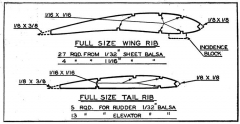 Kolb Champ Stick p2 model airplane plan