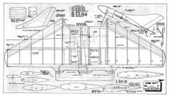 Komm Batt model airplane plan