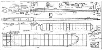 Kookie model airplane plan