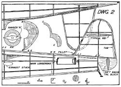 Koolhoven p2 model airplane plan