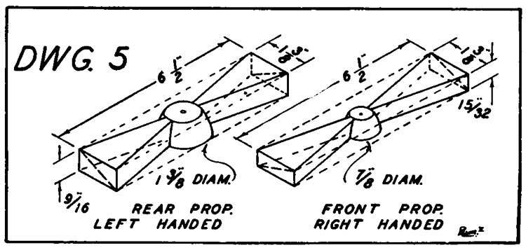 Koolhoven p5 model airplane plan