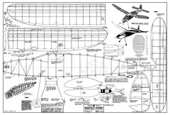 Korda Wakefield Winner model airplane plan