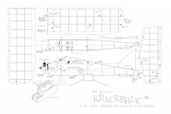 Krackerjack 32 model airplane plan