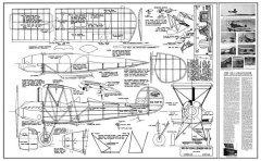 Kreider-Reisner KR-34 Challenger model airplane plan