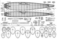 Krusader Mk8 Wakefield model airplane plan