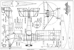 Kunkadlo 13in model airplane plan