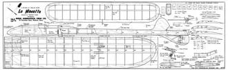 La Mouette model airplane plan