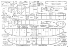 Ladybird 2 model airplane plan