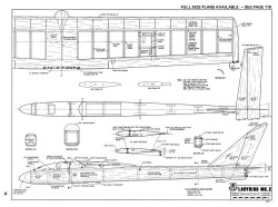 Ladybird Mk2-RCM-07-73-505 model airplane plan