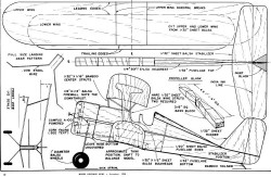 Laird Biplane Plan model airplane plan