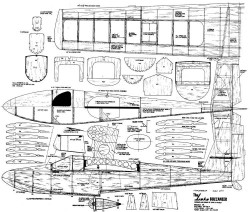 Lake Buccaneer model airplane plan